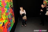 Ryan McGinness - Women: Blacklight Paintings and Sculptures Exhibition Opening #83