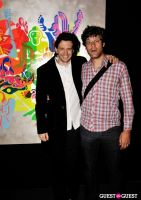 Ryan McGinness - Women: Blacklight Paintings and Sculptures Exhibition Opening #106