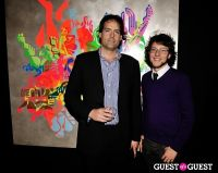Ryan McGinness - Women: Blacklight Paintings and Sculptures Exhibition Opening #114