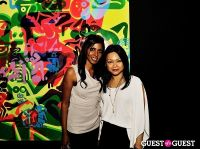 Ryan McGinness - Women: Blacklight Paintings and Sculptures Exhibition Opening #136