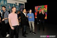 Ryan McGinness - Women: Blacklight Paintings and Sculptures Exhibition Opening #157