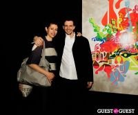 Ryan McGinness - Women: Blacklight Paintings and Sculptures Exhibition Opening #160