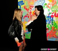 Ryan McGinness - Women: Blacklight Paintings and Sculptures Exhibition Opening #169