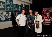 Ryan McGinness - Women: Blacklight Paintings and Sculptures Exhibition Opening #172