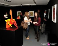 Ryan McGinness - Women: Blacklight Paintings and Sculptures Exhibition Opening #178