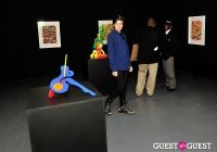 Ryan McGinness - Women: Blacklight Paintings and Sculptures Exhibition Opening #182