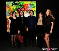 Ryan McGinness - Women: Blacklight Paintings and Sculptures Exhibition Opening #188