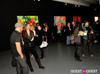 Ryan McGinness - Women: Blacklight Paintings and Sculptures Exhibition Opening #190