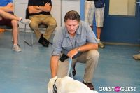 Jean Shafiroff and Dog Trainer Bill Grimmer Visit Southampton Animal Shelter #140