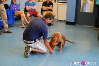 Jean Shafiroff and Dog Trainer Bill Grimmer Visit Southampton Animal Shelter #145