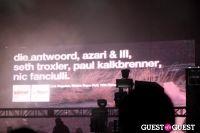 Sonar on tour:  Die Antwoord + Azari & III #72