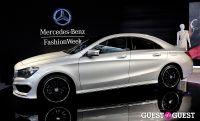 Supermodel Karlie Kloss at Mercedes-Benz - NYFW #12