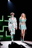 Custo Barcelona Runway Show at the Bryant Park Tents #84