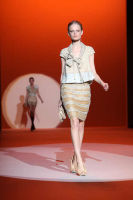 Carolina Hererra Runway Fashion Show at the Bryant Park Tents #7