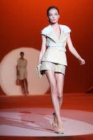 Carolina Hererra Runway Fashion Show at the Bryant Park Tents #8