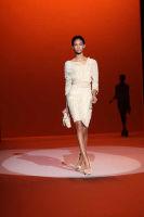 Carolina Hererra Runway Fashion Show at the Bryant Park Tents #10