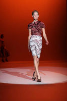 Carolina Hererra Runway Fashion Show at the Bryant Park Tents #17