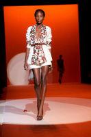 Carolina Hererra Runway Fashion Show at the Bryant Park Tents #20