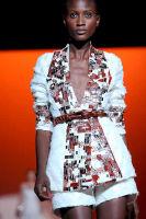 Carolina Hererra Runway Fashion Show at the Bryant Park Tents #21