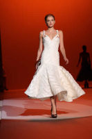 Carolina Hererra Runway Fashion Show at the Bryant Park Tents #22