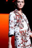 Carolina Hererra Runway Fashion Show at the Bryant Park Tents #26