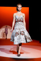 Carolina Hererra Runway Fashion Show at the Bryant Park Tents #28