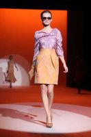 Carolina Hererra Runway Fashion Show at the Bryant Park Tents #34