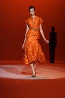Carolina Hererra Runway Fashion Show at the Bryant Park Tents #47