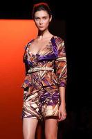Carolina Hererra Runway Fashion Show at the Bryant Park Tents #70