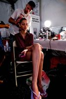 Tibi Runway Fashion Show and Backstage #70