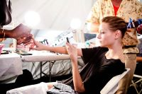 Tibi Runway Fashion Show and Backstage #73