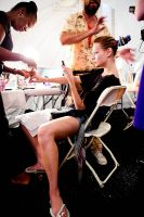 Tibi Runway Fashion Show and Backstage #74