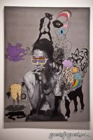 Tyler Rollins Fine Art - Ronald Ventura: Metaphysics of Skin #8