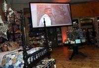 Man Shops Globe at Anthropologie #41