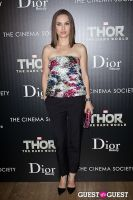 Thor: The Dark World Screening Hosted by The Cinema Society and Dior Beauty #113