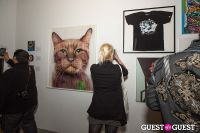 Cat Art Show Los Angeles Opening Night Party at 101/Exhibit #122