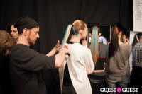 NYC Fashion Week FW 14 Herve Leger Backstage #54