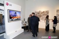 IvyConnect Art Gallery Reception at Moskowitz Gallery #39