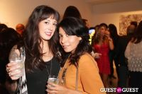 IvyConnect Art Gallery Reception at Moskowitz Gallery #87