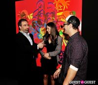 Ryan McGinness - Women: Blacklight Paintings and Sculptures Exhibition Opening #63