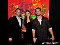 Ryan McGinness - Women: Blacklight Paintings and Sculptures Exhibition Opening #62