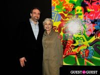 Ryan McGinness - Women: Blacklight Paintings and Sculptures Exhibition Opening #166