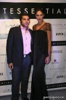 Akbar Hamid of Quintessentially and Amanda Alter from Project Runway