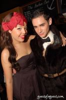 Recording artist Alexandra Alexis with friend Adrien Field