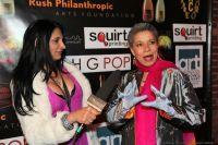 Red Carpet Interviewer with Arlee Leonard, vocalist