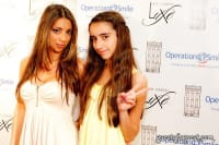 Publicist Athena Georgiadis and Barbie