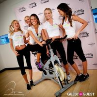 Victoria's Secret Angels Gear Up For a Supermodel Ride Soulcycle to Benefit Pelotonia #15