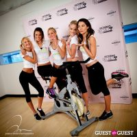 Victoria's Secret Angels Gear Up For a Supermodel Ride Soulcycle to Benefit Pelotonia #12