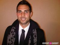 Carlos Bocanegra preparing for a night on the town in Chicago