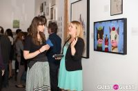 Cat Art Show Los Angeles Opening Night Party at 101/Exhibit #51